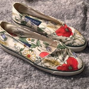 9edb7037f51 Cole Haan Shoes - Cole Haan Floral patterned Loafer Flats